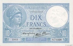 10 Francs MINERVE modifié FRANCE  1939 F.07.06 pr.NEUF