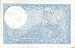 10 Francs MINERVE modifié FRANCE  1939 F.07.07 SUP