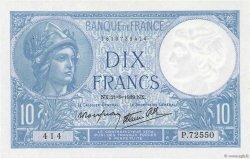 10 Francs MINERVE modifié FRANCE  1939 F.07.08 pr.SPL