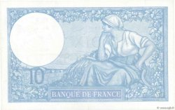 10 Francs MINERVE modifié FRANCE  1939 F.07.11 SUP