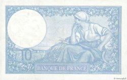 10 Francs MINERVE modifié FRANCE  1939 F.07.12 SUP