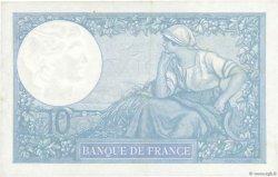 10 Francs MINERVE modifié FRANCE  1939 F.07.14 SUP
