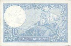10 Francs MINERVE modifié FRANCE  1940 F.07.15 pr.SUP