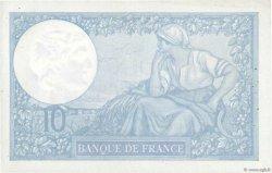 10 Francs MINERVE modifié FRANCE  1939 F.07.01 TTB+