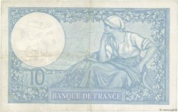 10 Francs MINERVE modifié FRANCE  1939 F.07.04