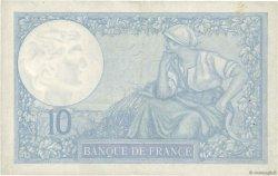 10 Francs MINERVE modifié FRANCE  1940 F.07.17 TTB