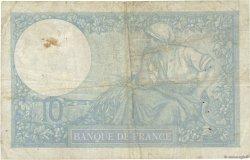 10 Francs MINERVE modifié FRANCE  1940 F.07.22 TB