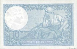 10 Francs MINERVE modifié FRANCE  1940 F.07.23 SUP