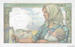 10 Francs MINEUR FRANCE  1941 F.08.01 NEUF