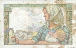 10 Francs MINEUR FRANCE  1942 F.08.04 TB+