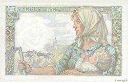 10 Francs MINEUR FRANCE  1943 F.08.07 SUP