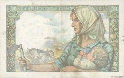 10 Francs MINEUR FRANCE  1943 F.08.07 TTB