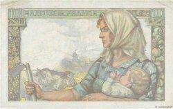 10 Francs MINEUR FRANCE  1943 F.08.09 TB