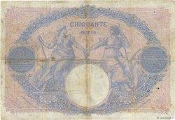 50 Francs BLEU ET ROSE FRANCE  1911 F.14.24 B