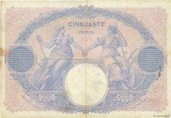 50 Francs BLEU ET ROSE FRANCE  1912 F.14.25 B+