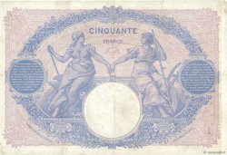 50 Francs BLEU ET ROSE FRANCE  1913 F.14.26 TTB