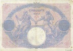 50 Francs BLEU ET ROSE FRANCE  1914 F.14.27 pr.TTB