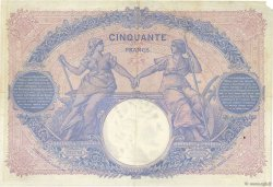 50 Francs BLEU ET ROSE FRANCE  1914 F.14.27 pr.TTB