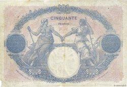 50 Francs BLEU ET ROSE FRANCE  1925 F.14.38 B