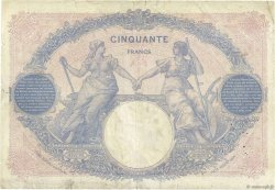 50 Francs BLEU ET ROSE FRANCE  1926 F.14.39 B