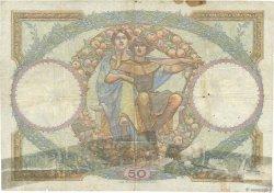 50 Francs LUC OLIVIER MERSON FRANCE  1927 F.15.01 B