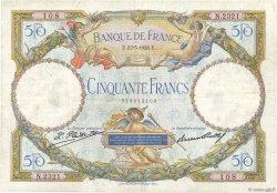 50 Francs LUC OLIVIER MERSON FRANCE  1928 F.15.02 TB