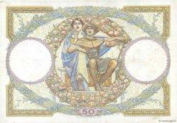 50 Francs LUC OLIVIER MERSON FRANCE  1930 F.15.04 TTB