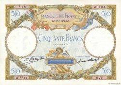 50 Francs LUC OLIVIER MERSON type modifié FRANCE  1931 F.16.02 SUP