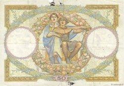 50 Francs LUC OLIVIER MERSON type modifié FRANCE  1933 F.16.04 TTB