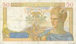 50 Francs CÉRÈS FRANCE  1935 F.17.10