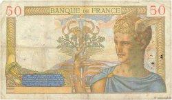 50 Francs CÉRÈS FRANCE  1935 F.17.11 B