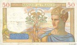50 Francs CÉRÈS FRANCE  1935 F.17.12 TB+