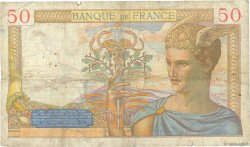 50 Francs CÉRÈS FRANCE  1935 F.17.13 B