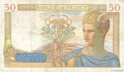 50 Francs CÉRÈS FRANCE  1935 F.17.16 TB
