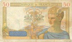 50 Francs CÉRÈS FRANCE  1936 F.17.23 B