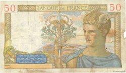 50 Francs CÉRÈS FRANCE  1936 F.17.27 pr.TB