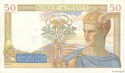 50 Francs CÉRÈS FRANCE  1936 F.17.30 SUP