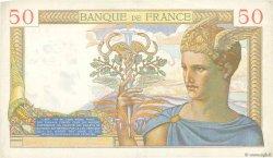 50 Francs CÉRÈS modifié FRANCE  1937 F.18.05 pr.SUP