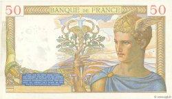50 Francs CÉRÈS modifié FRANCE  1939 F.18.28 SUP+