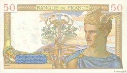 50 Francs CÉRÈS modifié FRANCE  1939 F.18.29 SUP