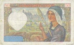 50 Francs JACQUES CŒUR FRANCE  1940 F.19.04 pr.TTB