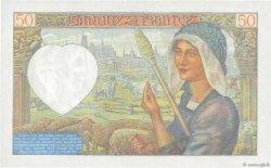 50 Francs JACQUES CŒUR FRANCE  1941 F.19.09 NEUF