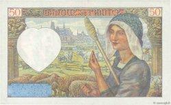 50 Francs JACQUES CŒUR FRANCE  1941 F.19.15 TTB+