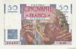 50 Francs LE VERRIER FRANCE  1946 F.20.05 SPL