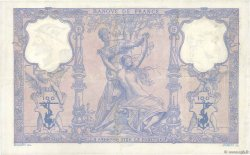 100 Francs BLEU ET ROSE FRANCE  1909 F.21.24 TB à TTB