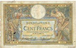 100 Francs LUC OLIVIER MERSON avec LOM FRANCE  1908 F.22.01 B