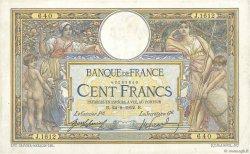 100 Francs LUC OLIVIER MERSON sans LOM FRANCE  1912 F.23.04 TTB