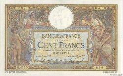 100 Francs LUC OLIVIER MERSON sans LOM FRANCE  1917 F.23.09 TTB à SUP