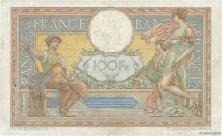 100 Francs LUC OLIVIER MERSON grands cartouches FRANCE  1927 F.24.06 TB+