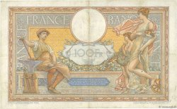 100 Francs LUC OLIVIER MERSON grands cartouches FRANCE  1928 F.24.07 TTB